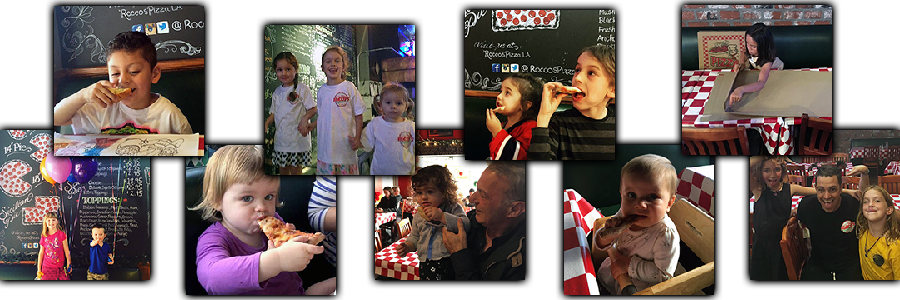 Slideshow graphic: Photos of kids at Rocco's